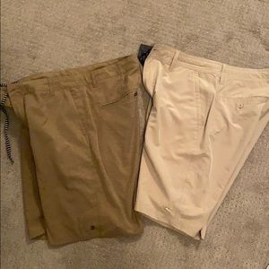 Men's shorts (for casual and the water)